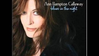 It's Alright With Me- Ann Hampton Callaway