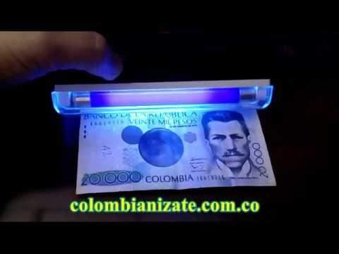 Linterna UV tubo