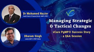 Managing Strategic & Tactical Changes | PgMP® Success Story | Q&A Session with Nazier | Dharam | PMI