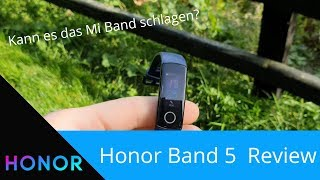 Schlägt es das Mi Band? -  Honor Band 5 Review