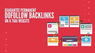 I will build high quality seo backlinks by guest posting on High Authority Thai's websites