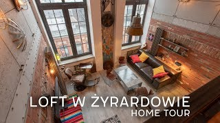LOFT W Żyrardowie | HOME TOUR
