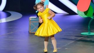 Show «The Incredible people» Final. Bella Devyatkina. Polyglot