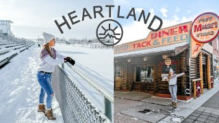 HEARTLAND TOUR CBC | Filming locations | Moving to Canada series Ep 7 | Alberta | Amber Marshall