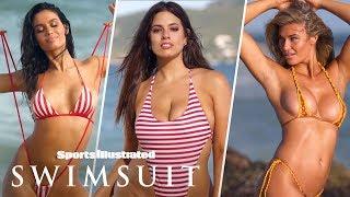 Ashley Graham, Anne de Paula, Samantha Hoopes Go Retro, Reveal All | Sports Illustrated Swimsuit
