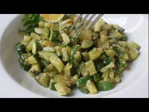 Cream Cheesy Zucchini Recipe – Cubed Zucchini Side Dish with Cream Cheese