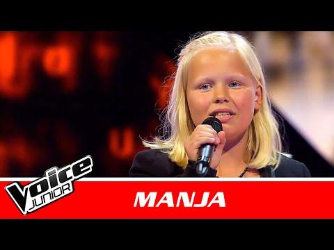 "Manja | ""White Nights"" af Oh Land | Blind 1 | Voice Junior Danmark 2016"