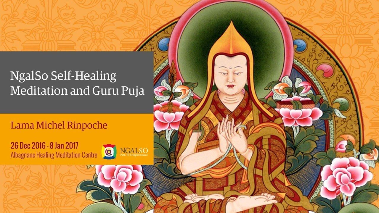 NgalSo Self-Healing Meditation and Guru Puja with Lama Michel Rinpoche (English – Italian)