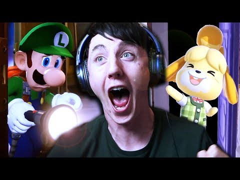 I LOVE YOU NINTENDO!!! | Animal Crossing Switch & Luigi's Mansion 3 Nintendo Direct Reaction (видео)