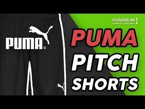 PUMA Pitch Shorts besser als adidas und co.? DEUTSCH l Review l On Body l Overview l Outlet46