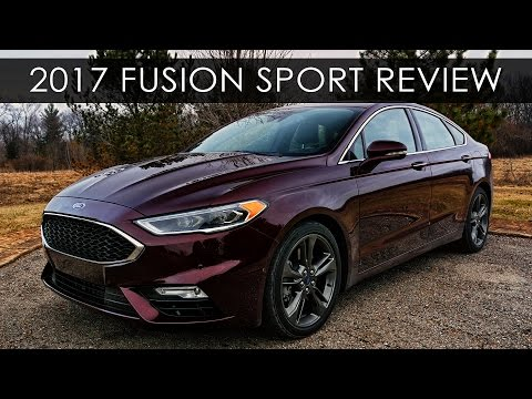 review 2017 ford fusion sport twin turbo carultra. Black Bedroom Furniture Sets. Home Design Ideas