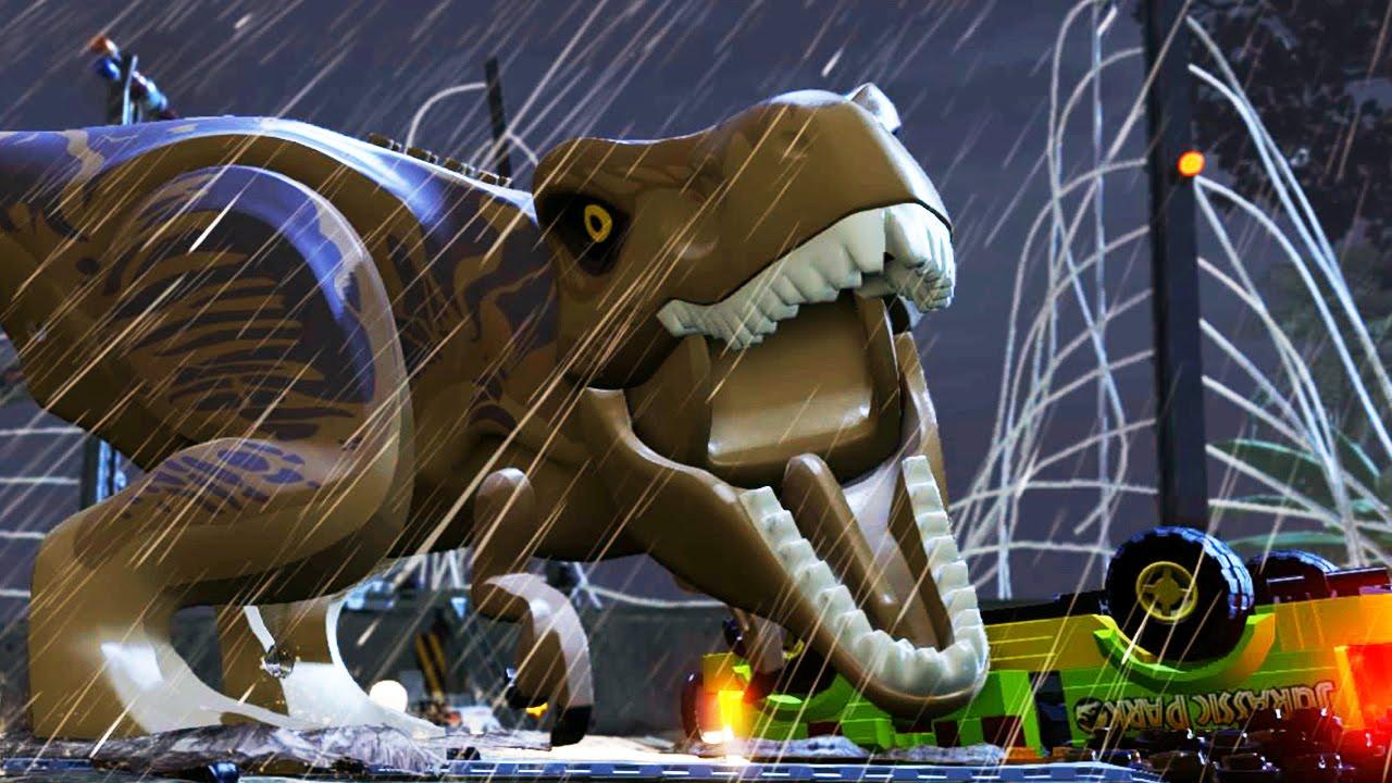 LEGO JURASSIC WORLD Game – Launch Trailer (PS4 / Xbox One) #VideoJuegos #Consolas