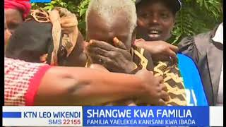 Shangwe kwa Familia: Familia ya Kipchoge yaelekea Kanisani kwa ibada