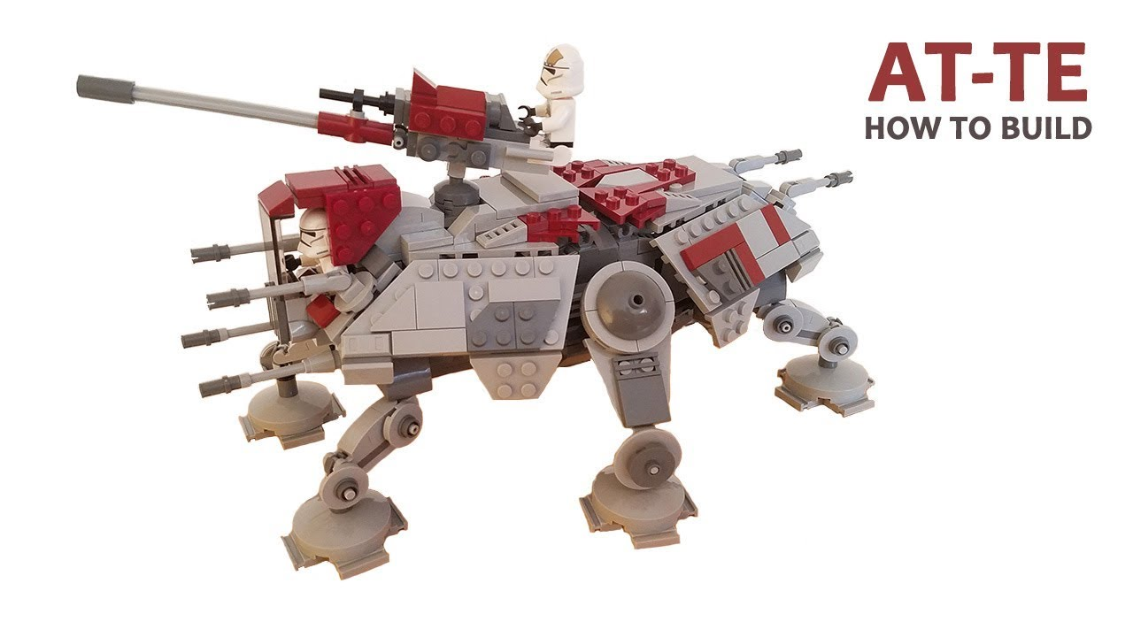 Lego Star Wars AT-TE Walker MOC | Building Instructions