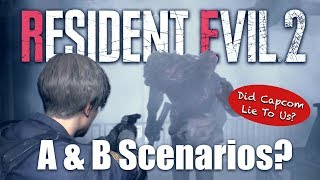 Resident Evil 2 Remake A and B Scenario Theory - 3 Unexplained Repeats For Leon & Claire
