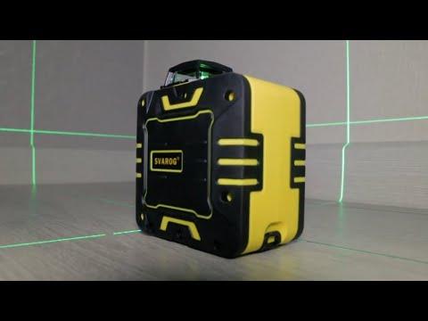 Лазерный уровень из Китая SVAROG S601G обзор с распаковкой