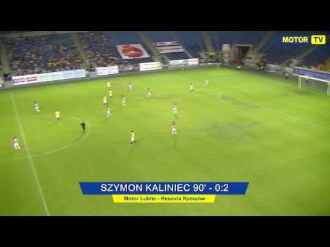 WIDEO: Motor Lublin - Resovia 0-2 [BRAMKI]