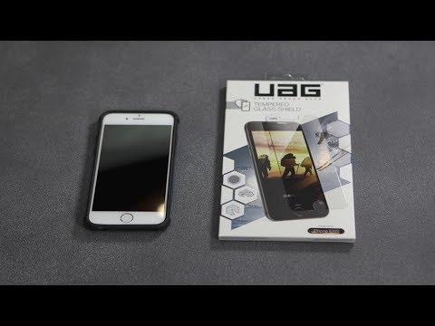 UAG Glass Screen Protector (1Stück, iPhone 6s, iPhone 7, iPhone 8)