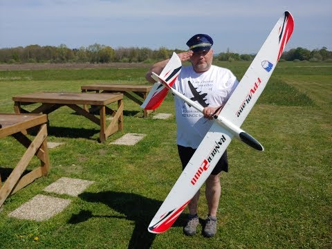 ranger-pusher-glider-2000mm-volantex-rc-pnf-maiden-flight