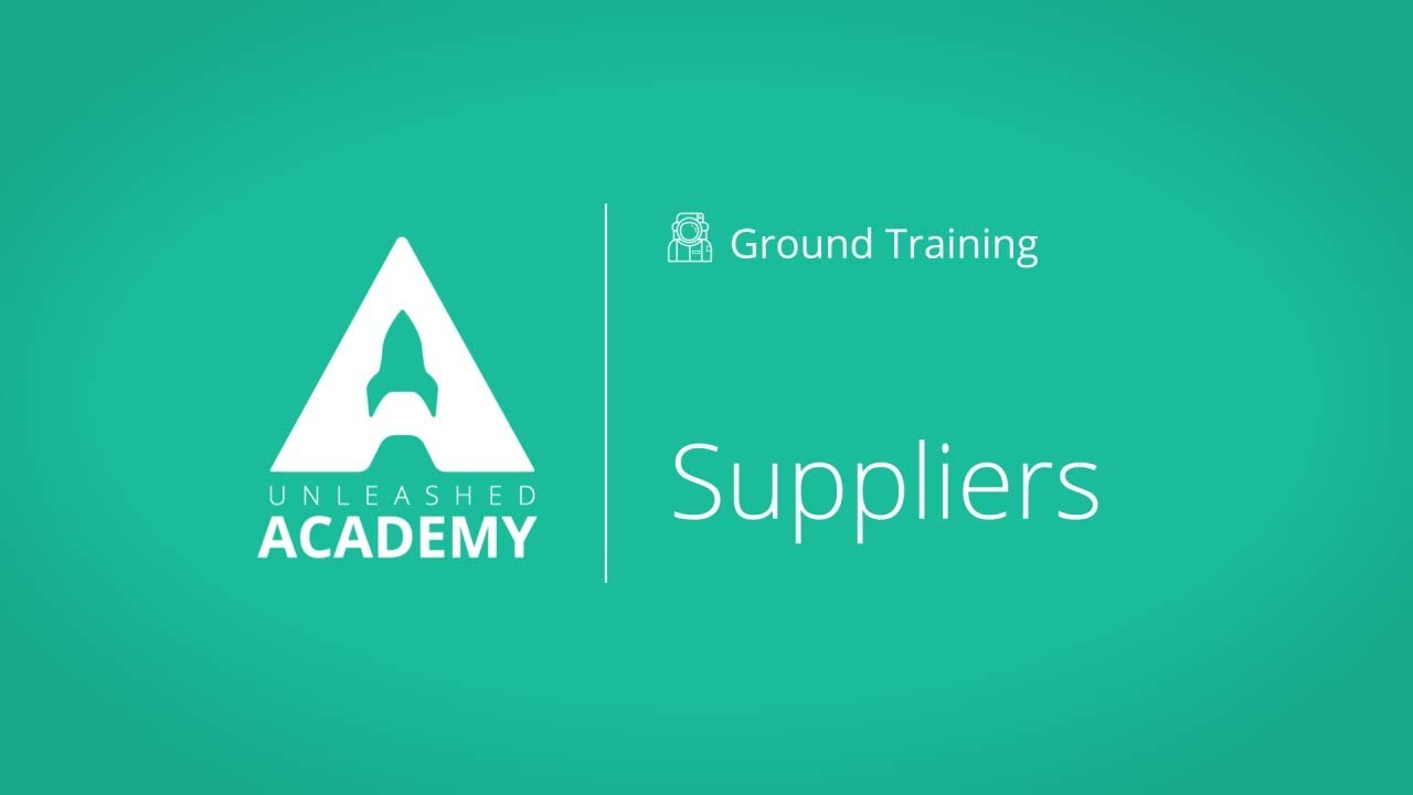 Suppliers YouTube thumbnail image
