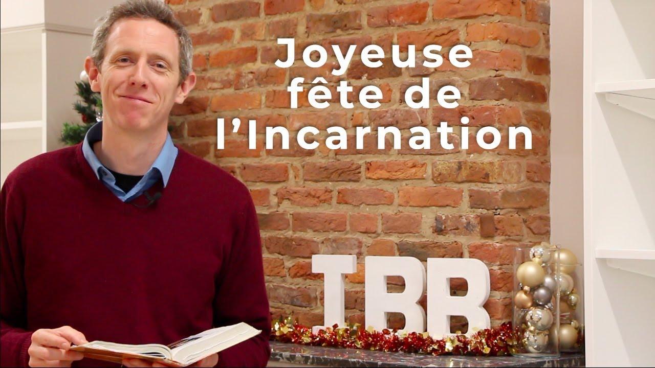 Joyeuse fête de l'Incarnation (Jn 1,14)