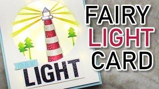Interactive Light Up Card (Fairy Lights)