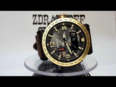 Casio Pro Trek PRG-600YL-5ER watch video 2017