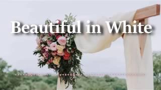 Westlife - Beautiful in White (Lyrics Video)