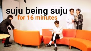 suju being suju for 16 minutes / a loud super junior compilation