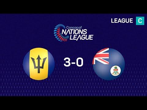 Барбадос - Cayman Islands 3:0. Видеообзор матча 20.11.2019. Видео голов и опасных моментов игры
