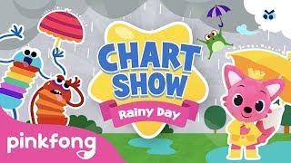 Pinkfong Chart Show: Rainy Day Songs | Pinkfong Baby Shark Chart Show | Pinkfong Show For Children