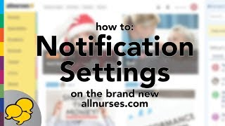 View the video Navigating Your Notification Settings