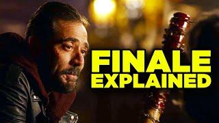 """Walking Dead Season 10 Ending Explained! (10x22 """"Here's Negan"""")"""