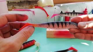 Порошковая краска для силиконовых приманок