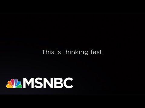 This is thinking fast. | Jacob Soboroff | MSNBC