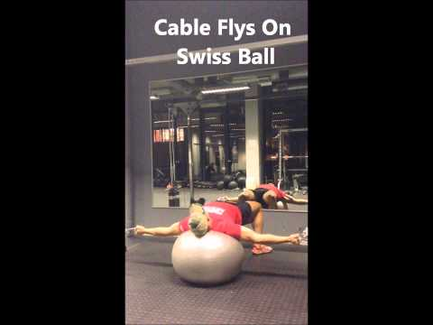 Cable Flys   Swiss Ball 5)
