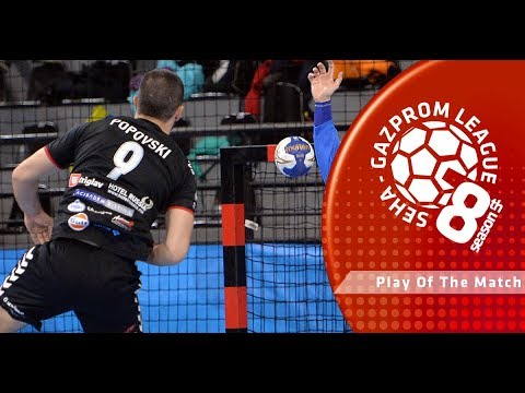 Play of the match: Martin Popovski (Tatran Presov vs Vardar)