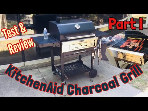 KitchenAid Charcoal Grill – Seasoning & Review. Part 1. – Kasket –