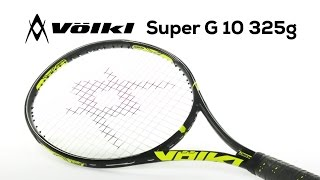 Volkl Super G 10 325 Racquet video