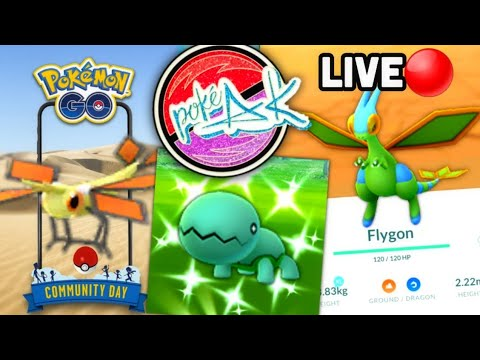 Shiny Trapinch Community Day Live in Alaska | Pokemon GO