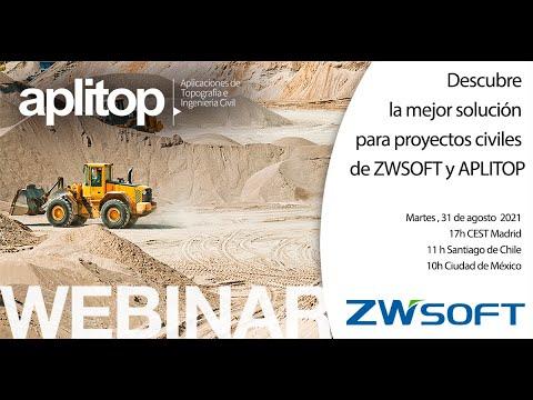 Descubre la mejor solución para proyectos civiles de ZWSOFT y APLITOP