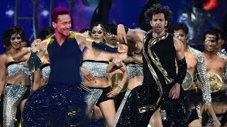 Tiger Shroff and Hrithik Roshan Crazy Dance Performance at War Movie Promotion | Mind Blowing Step