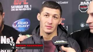 UFC 169 - POST FIGHT: RASHID MAGOMEDOV