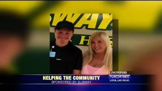 FOX5 MORE Show - Subway Cares amd GGAF Partnership