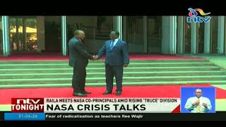 What Raila told Nasa in tense talks - VIDEO
