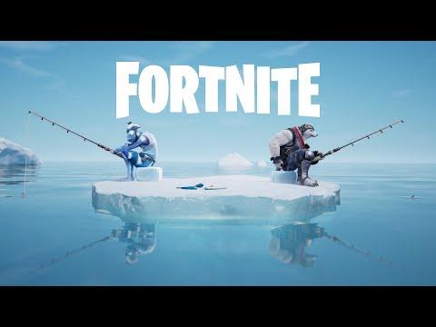 Going Ice Fishin' - Fortnite Shorts