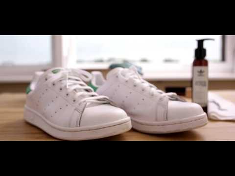Adidas Stan Smith reinigen und pflegen mit dem Sneaker-Cleaner