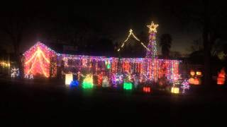 Fassett Family Animated Christmas Light Show 2015 Harkthe Herald Angels Sing
