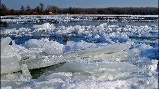 Рыбалка в апреле/обзор №3/Река Салмыш.