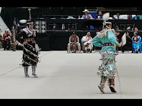CROSSROADS Powwow 2019 Tie Breaker Teen Girls Jingle